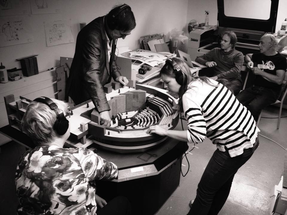 NOV'82 Architecten - Vooroplevering Audiomaquette TK